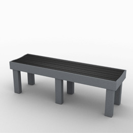 Great Lakes 5 Foot Backless Bench