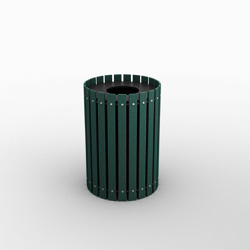 Great Lakes Single Round Waste Bin
