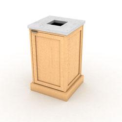 Imperial Single Top Load Waste Bin