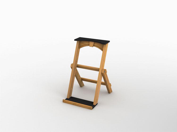 Keystone Folding Bag Stand