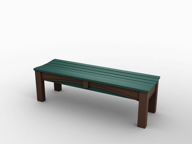 Keystone Backless Bench