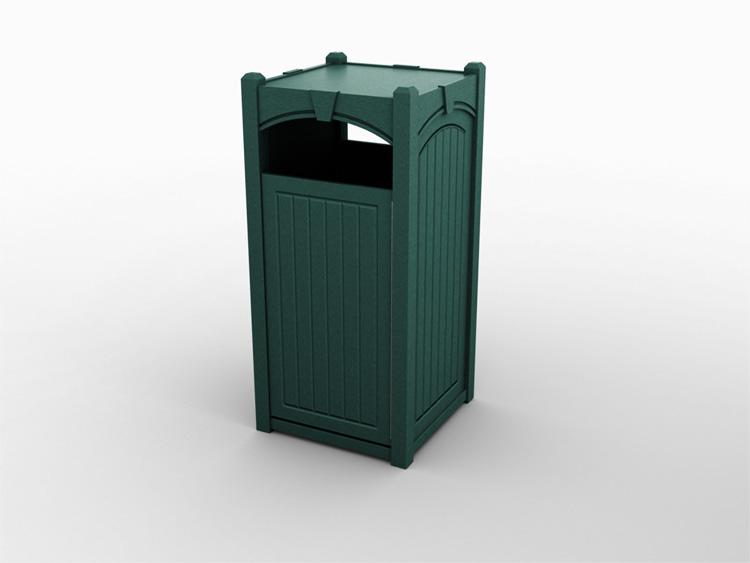 Keystone Single Front Load Waste Bin