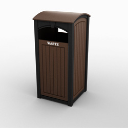Keystone Single Front Load Waste Bin