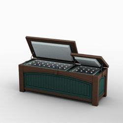 Keystone Large Short Cooler Box