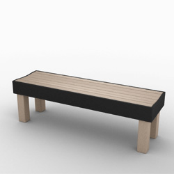 Great Lakes Backless Bench