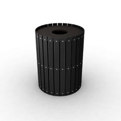 Great Lakes Single Round Waste & Recycling Bin