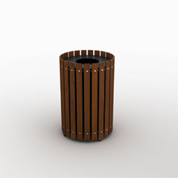 great-lakes-single-round-waste-recycling-bin