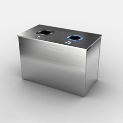 Royal Double Top Load Waste & Recycling Bin