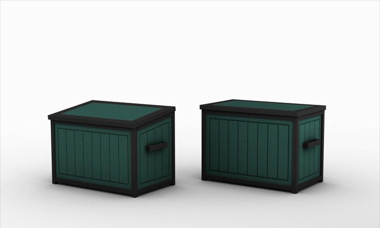 Storage Box Roof Options
