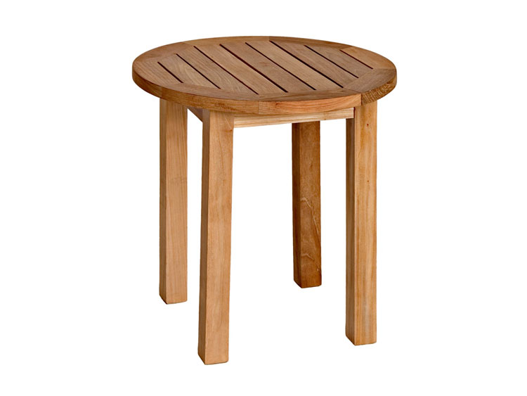 Tall Small Side Table: Canterbury Tall Round Side Table