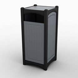Single Front Load Highlands Waste & Recycling Bin