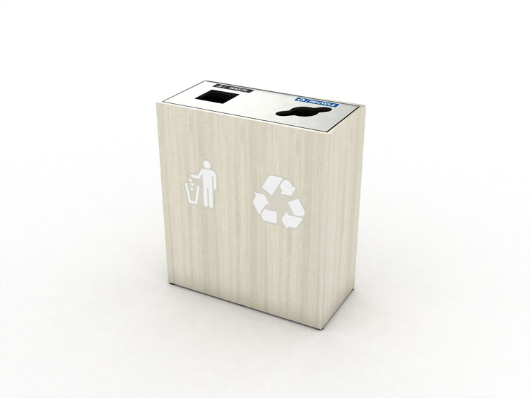 premier-double-top-load-waste-recycling-bin