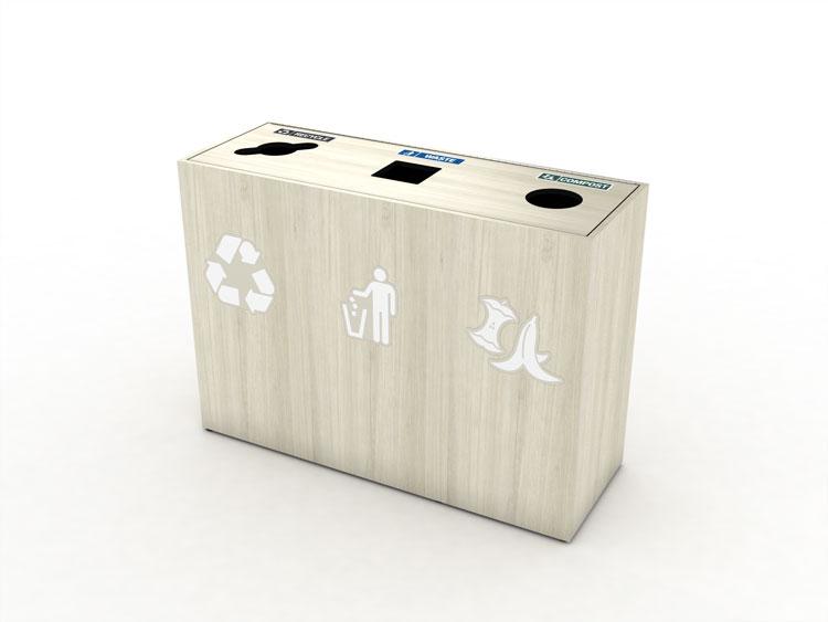 premier-triple-top-load-waste-recycling-bin