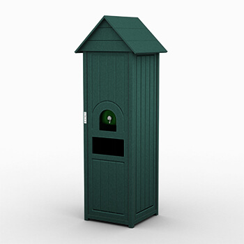 Green Great Lakes Small Water Cooler And Waste Station
